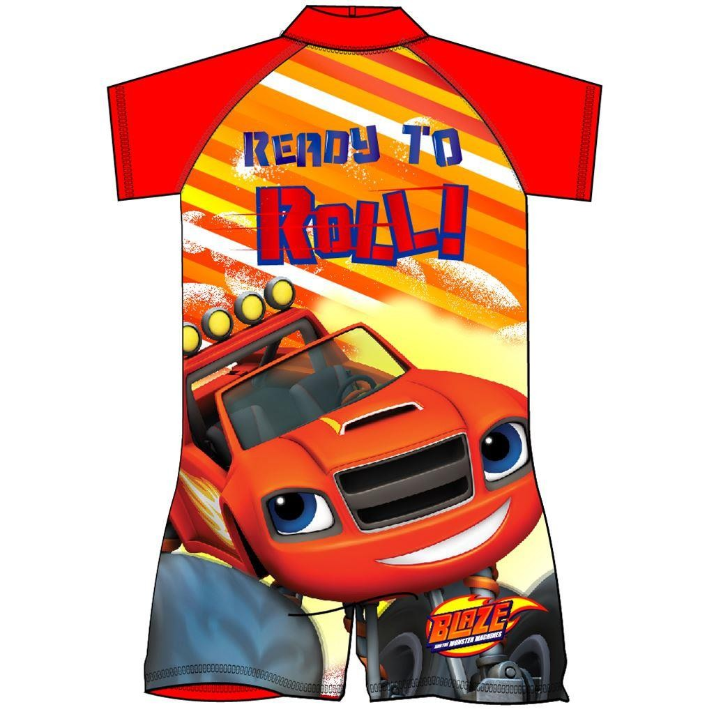 Blaze And The Monster Machines Surf Suit