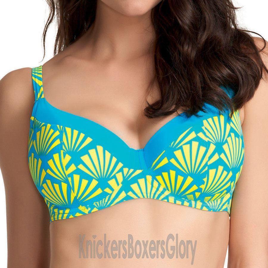 Freya Fame Sweetheart Padded Bikini Top - Lime Fizz