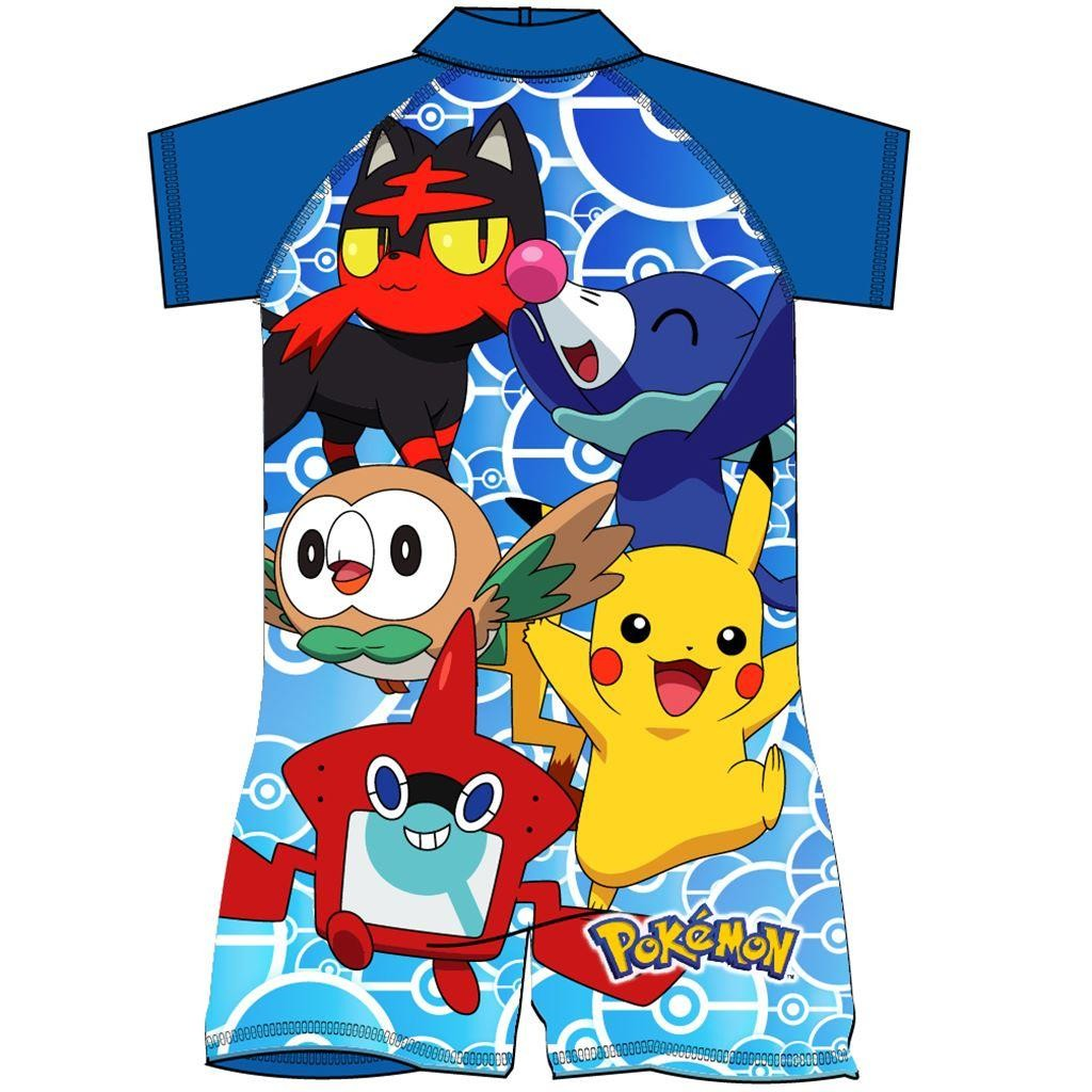 Pokemon Multi Character Surf Suit
