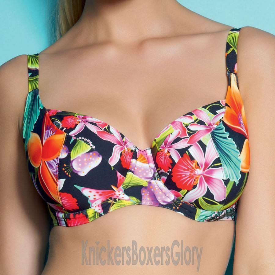Freya Calypso Balcony Bikini Top - Black