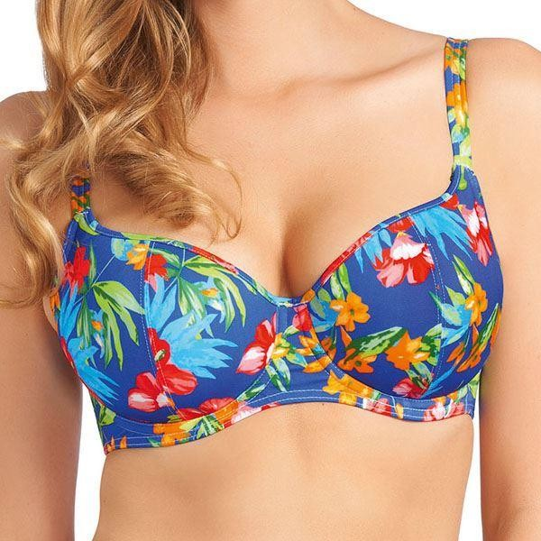 Freya Acapulco Sweetheart Padded Bikini Top - Cobalt
