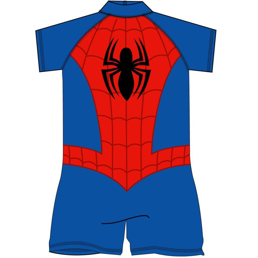 Spiderman Costume Surf Suit