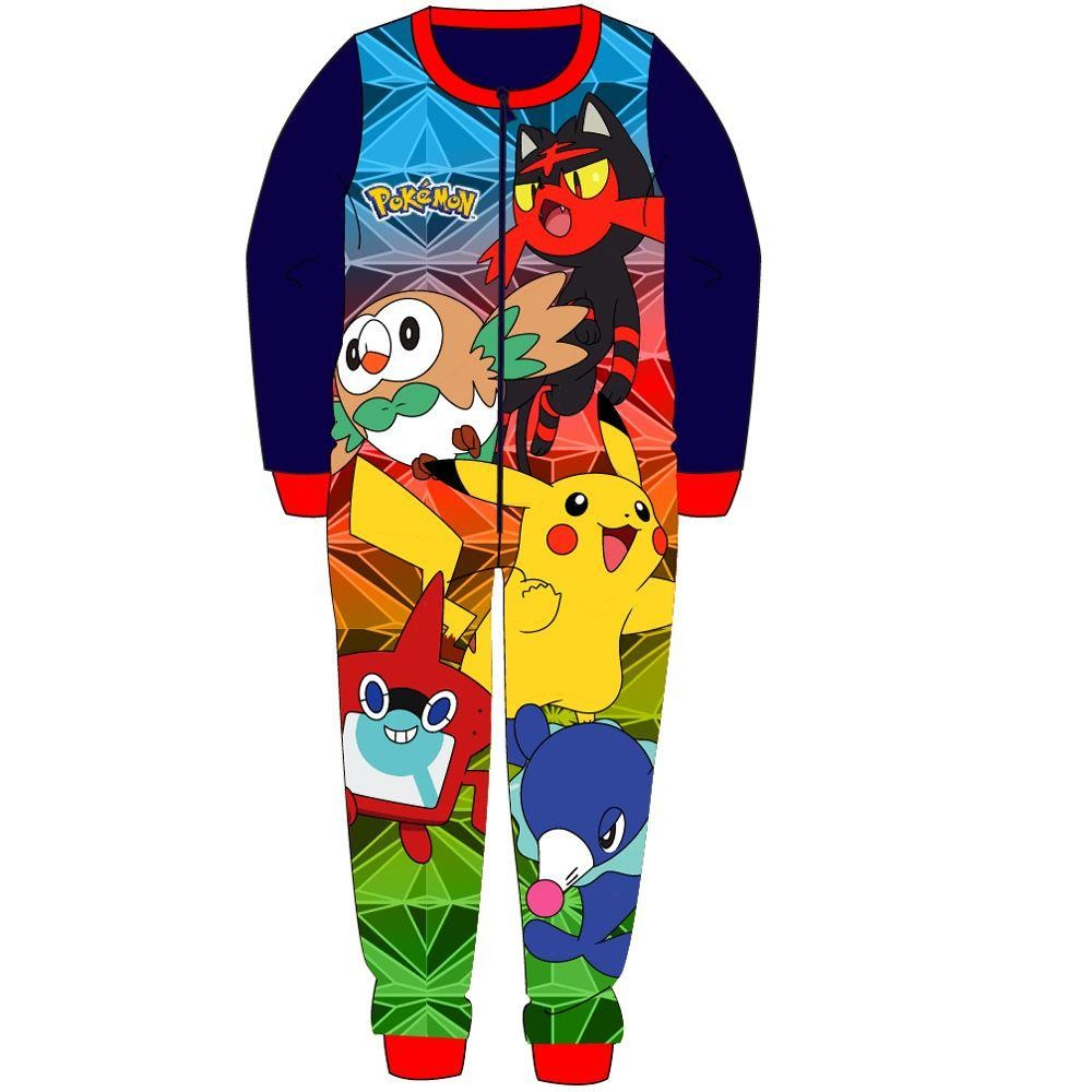 e2d1a6d4f2b9 Pokemon Fleece Onesie - Dark Blue