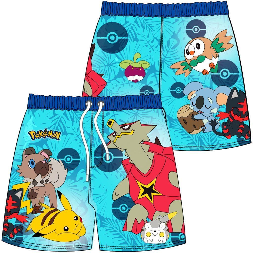 Boys Pokemon Swim Shorts