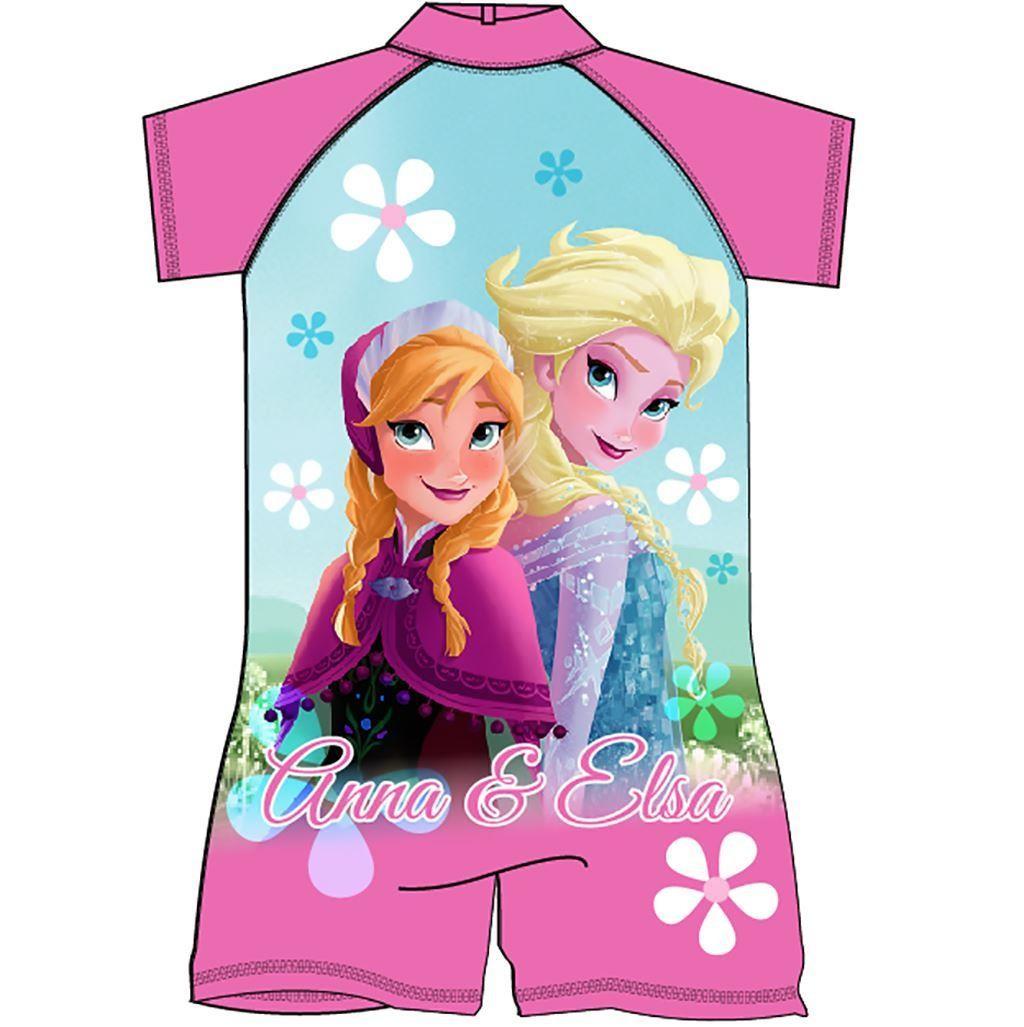 Frozen Anna And Elsa Surf Suit