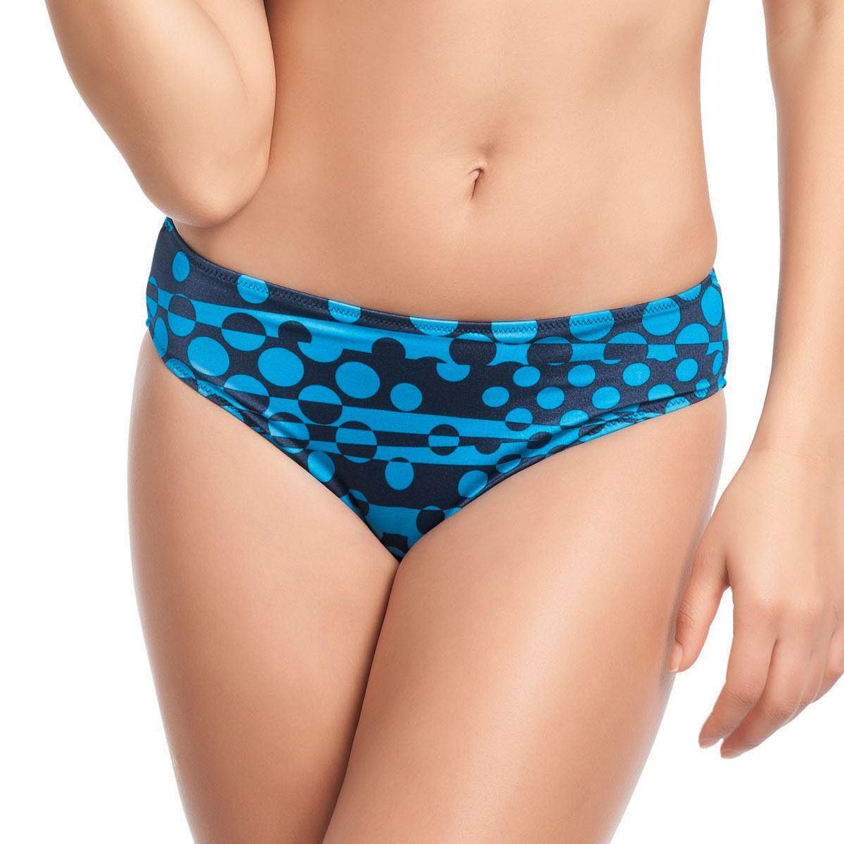 Fantasie Javea Mid Rise Bikini Brief - Blue Lagoon