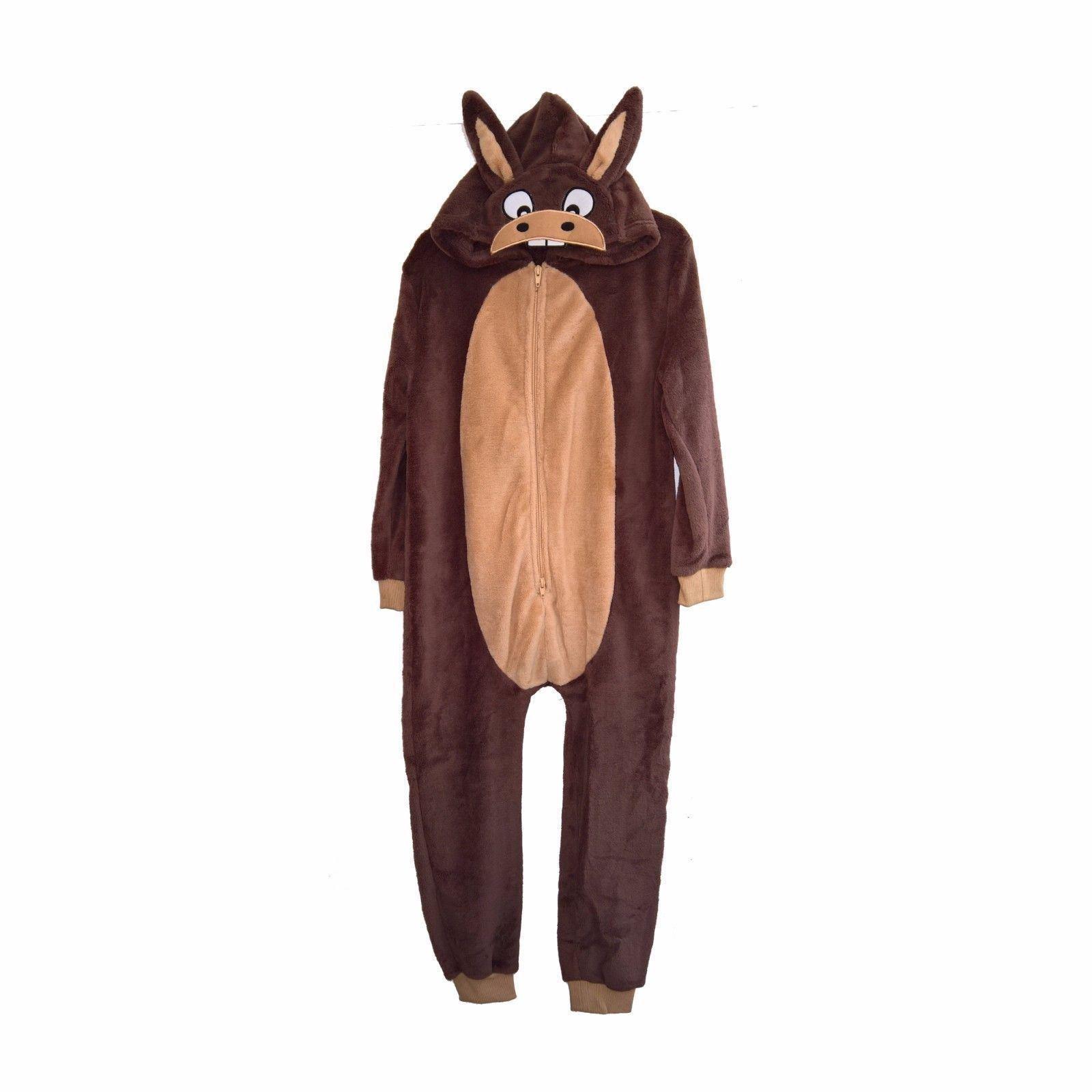 Jim Jams Donkey Costume Fleece Onesie
