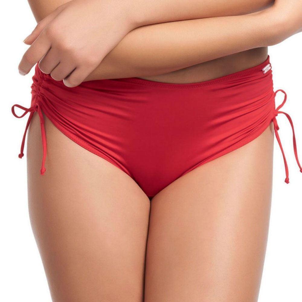 Fantasie Versailles Adjustable Leg Bikini Short - Fire Red