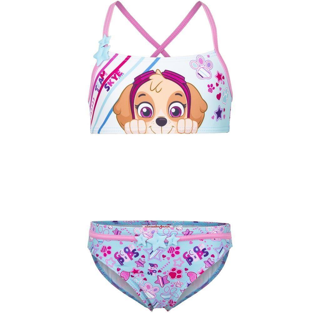 Girls Paw Patrol 'Team Skye' Bikini Set
