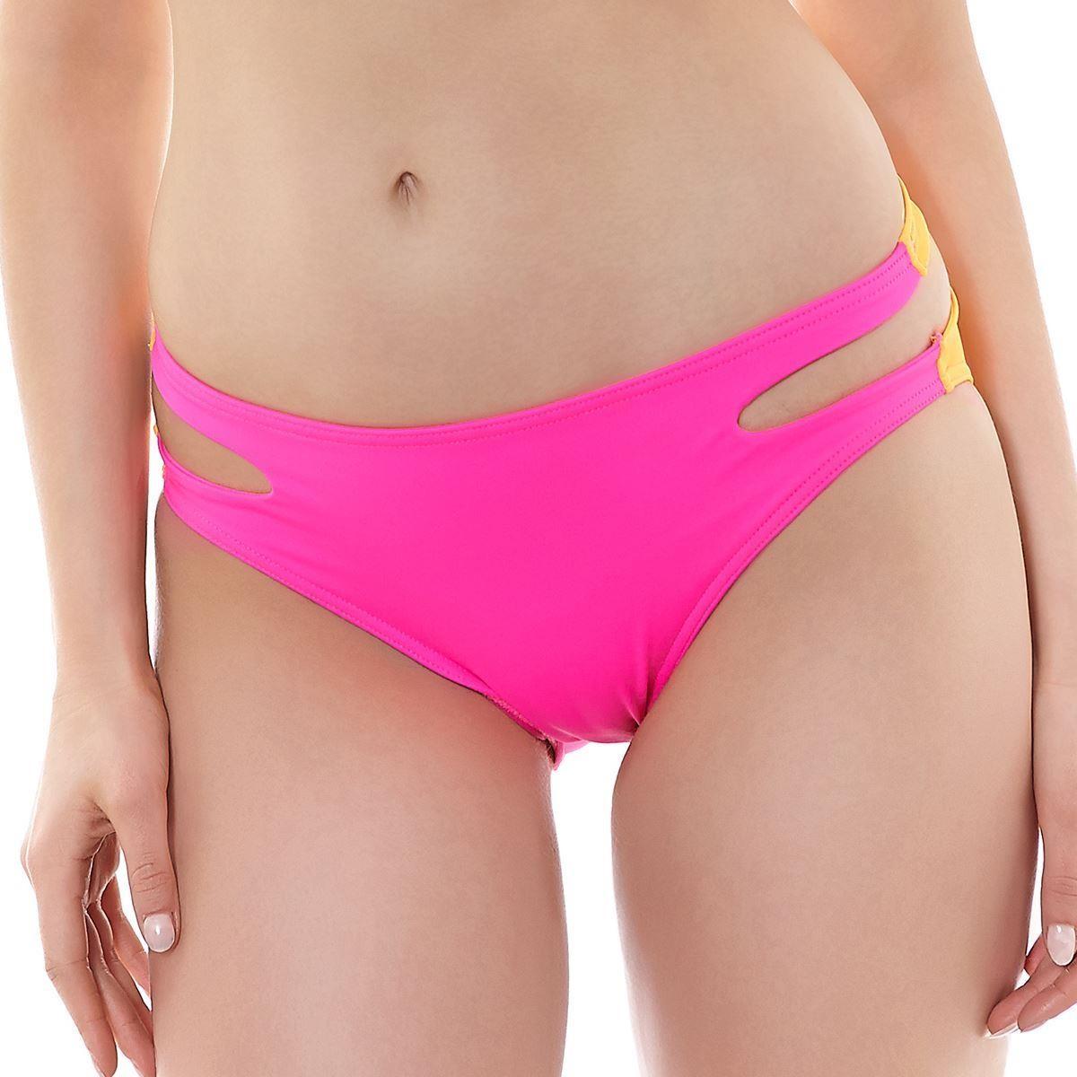 Freya Virtue Cut Out Bikini Brief - Bright Pink