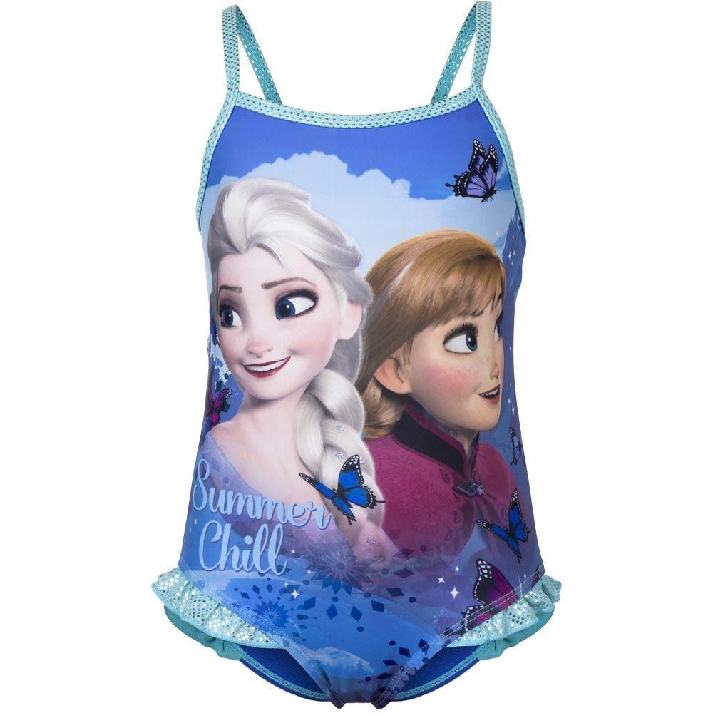 Girls Disney Frozen 'Summer Chill' Swimsuit