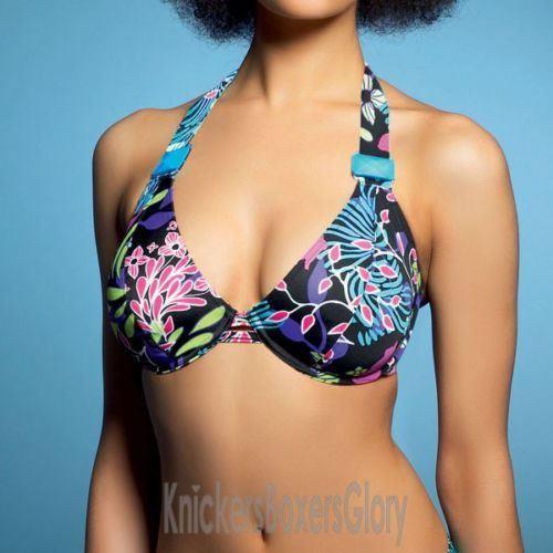 Freya Zodiac Bandless Halter Bikini Top - Paradise