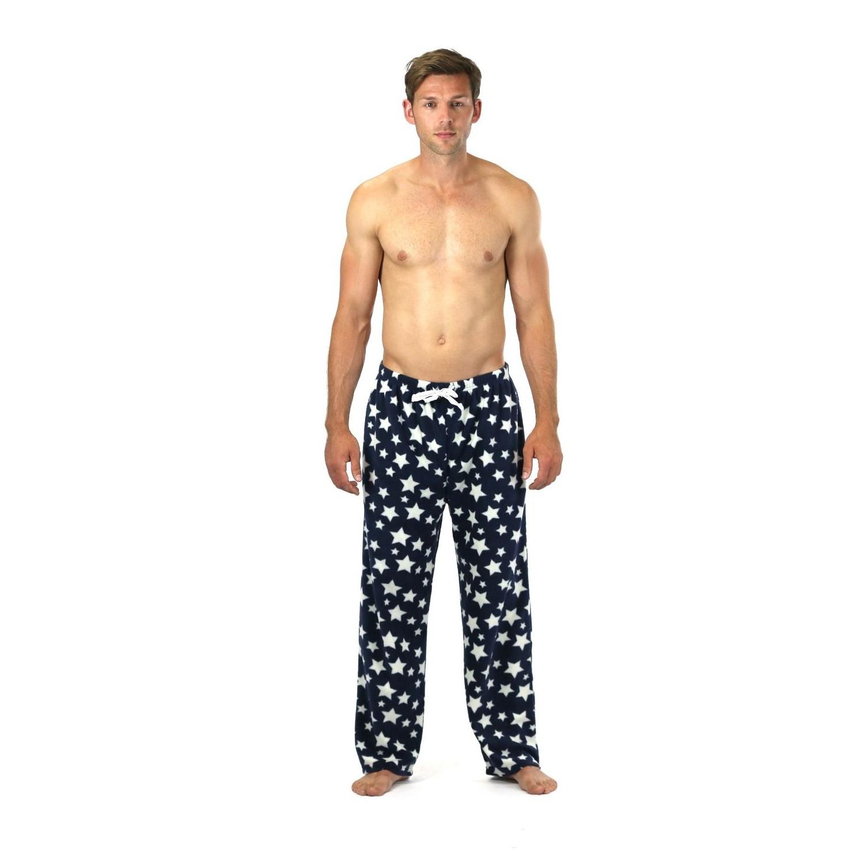 Cargo Bay Fleece Pyjama Bottoms - Navy Star