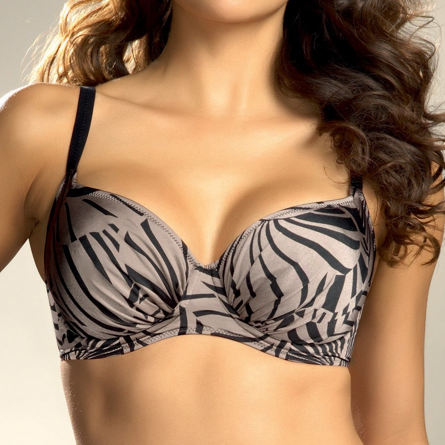 Fantasie Goa Full Cup Bikini Top - Black