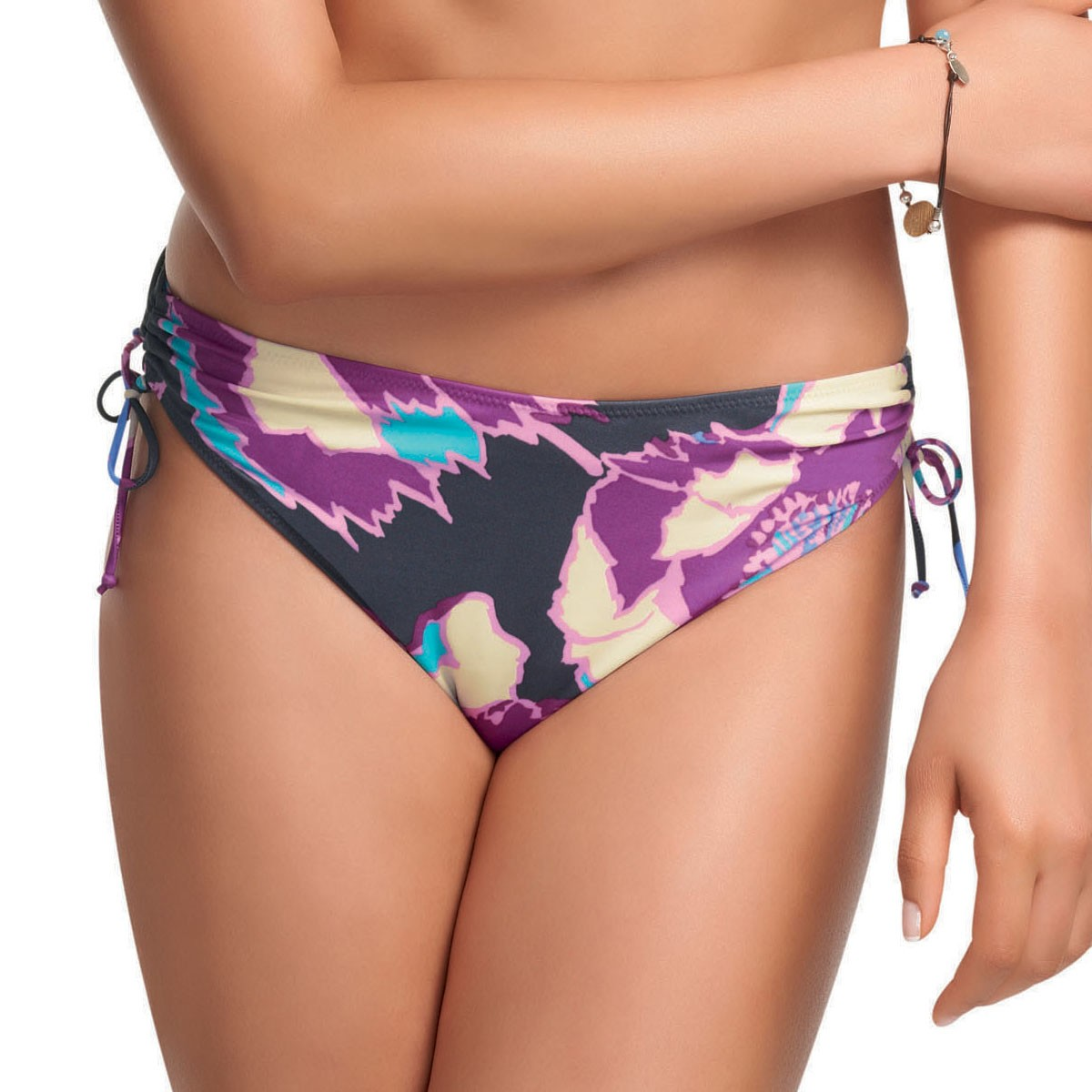 Fantasie Martinique Adjustable Leg Bikini Briefs - Radiant Orchid