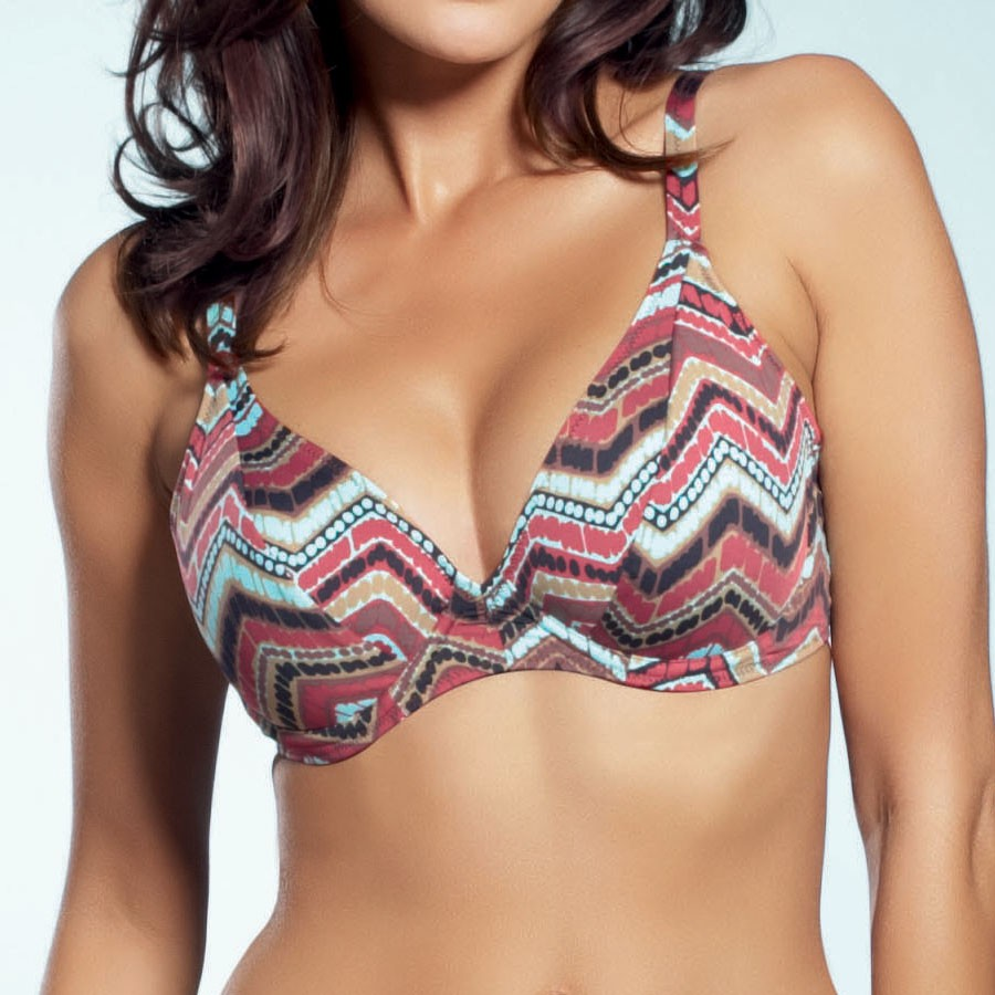 Fantasie La Paz Triangle Plunge Bikini Top - Amazon