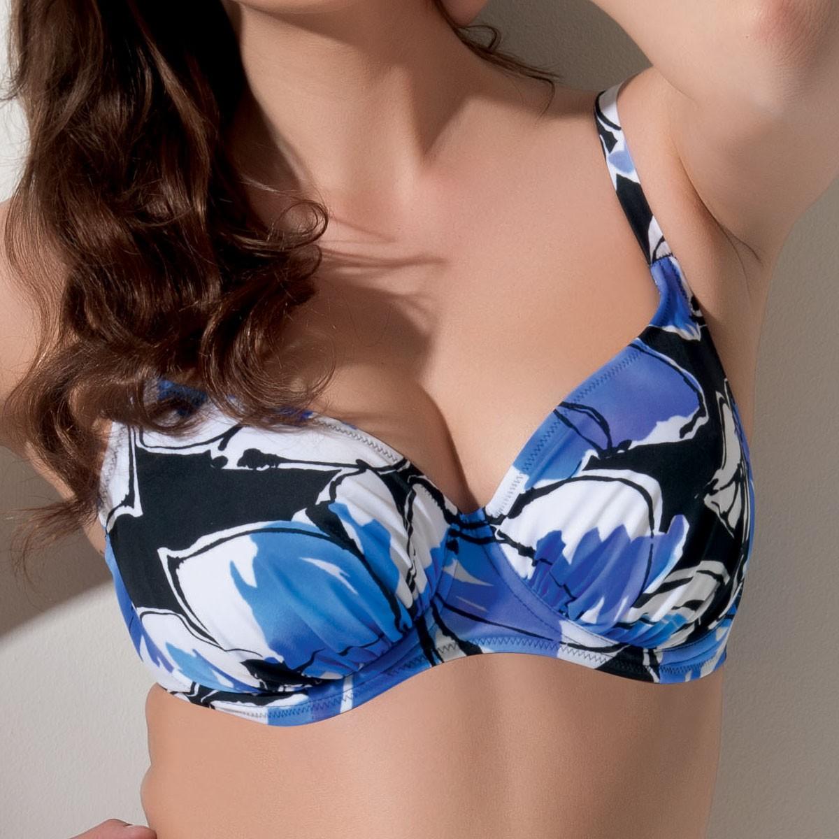 Fantasie Valetta Full Cup Bikini Top - Persian Blue