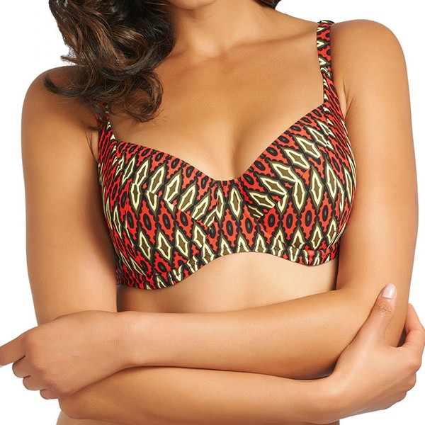 Fantasie San Juan Balcony Bikini Top GG - HH Cup - Black