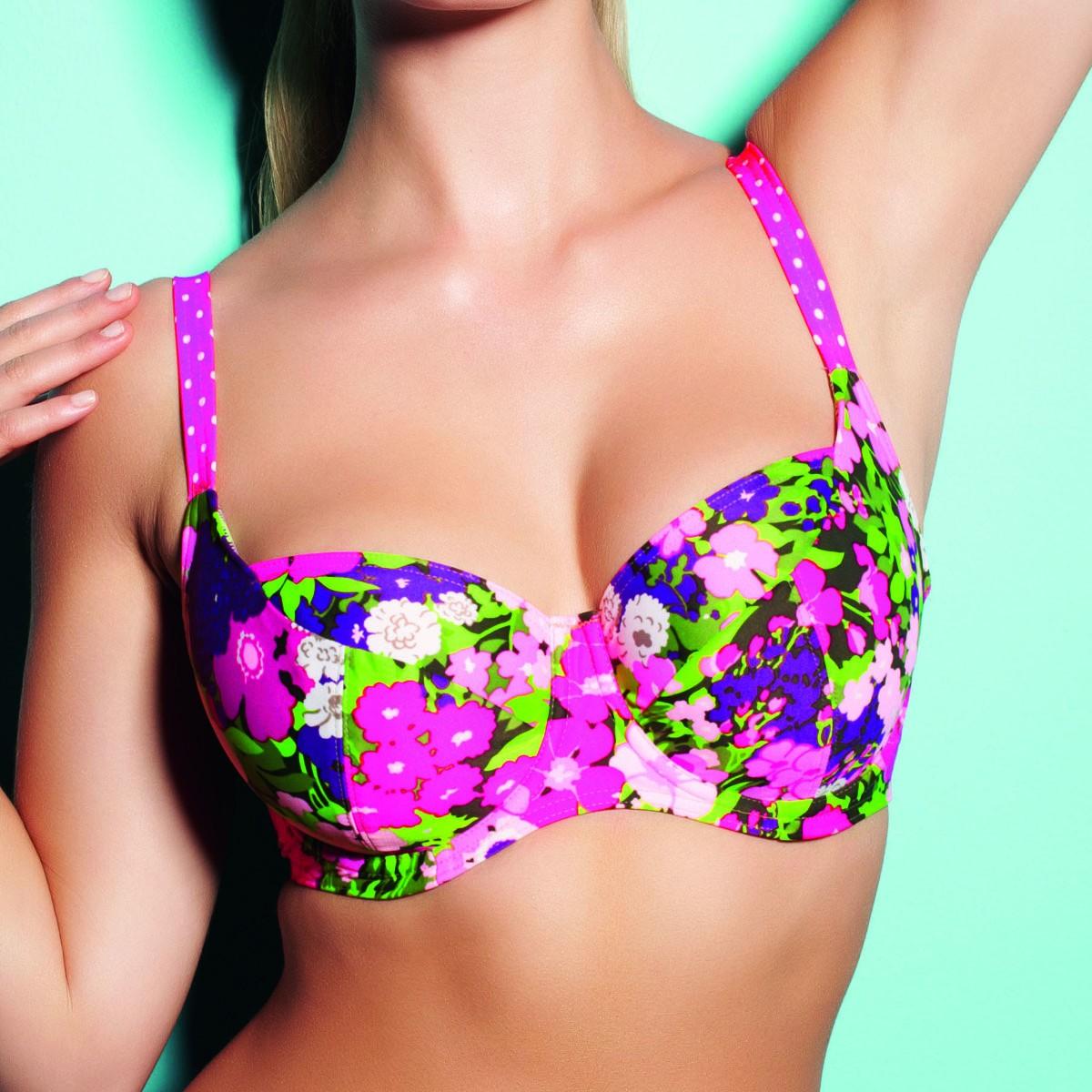 Freya Eden Underwired Balcony Bikini Top - Paradise