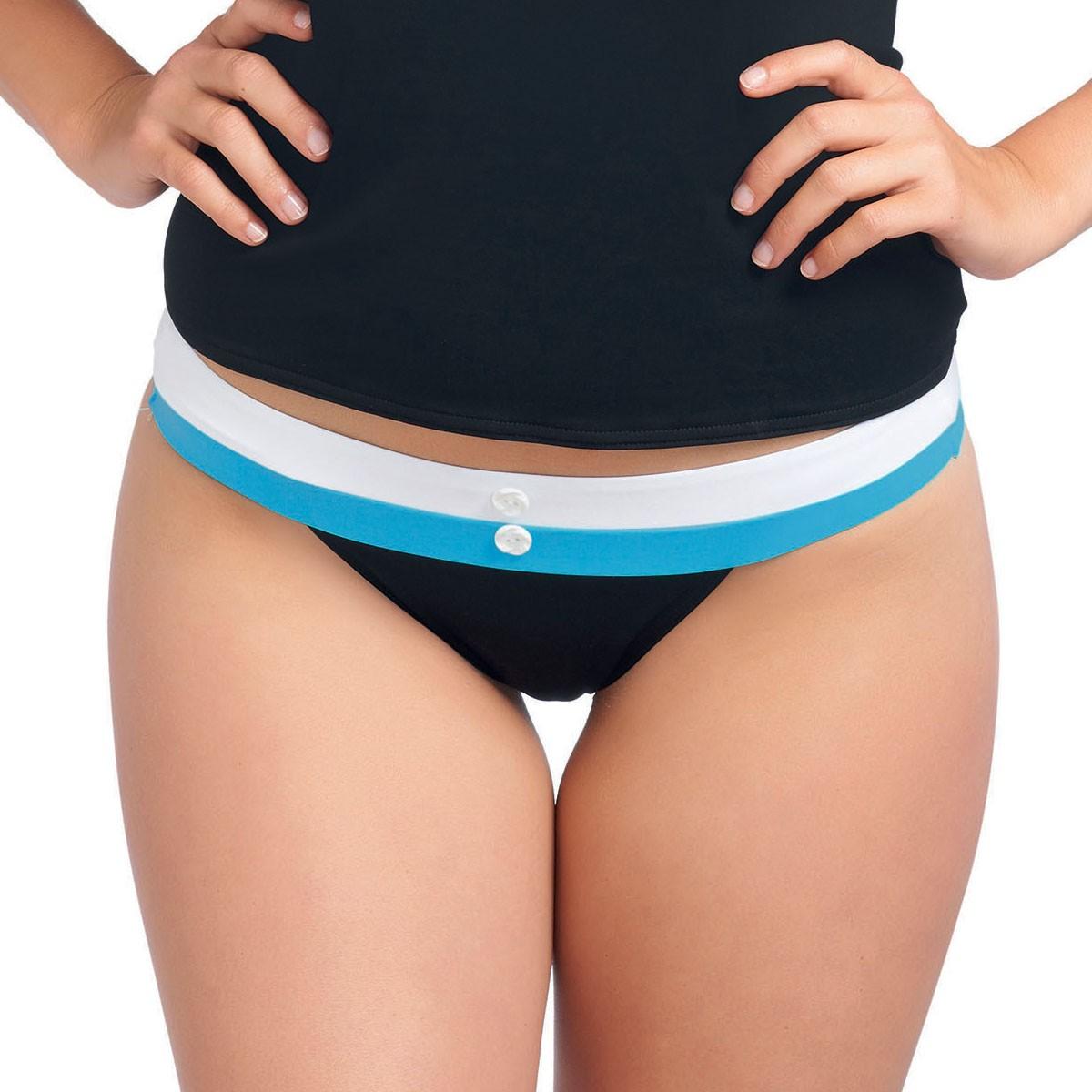 Freya Revival Wide Tab Bikini Brief - Black