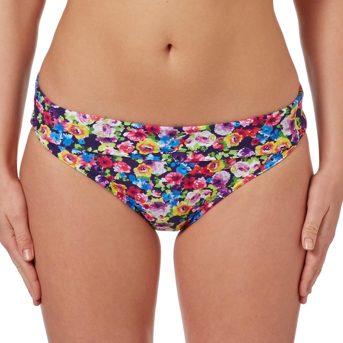 Freya Summer Fold Bikini Brief - Indigo