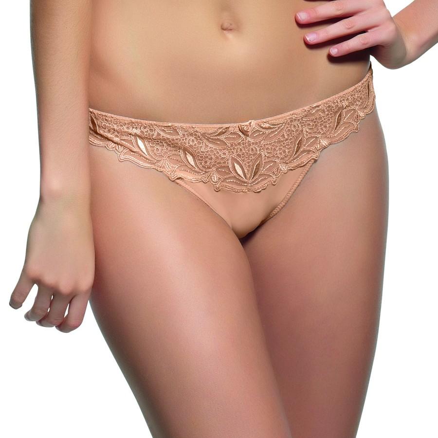 Panache Melody Thong - Nude