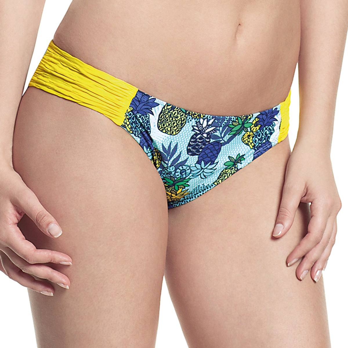 Panache Cleo Carmen Bikini Brief - Tropical Print