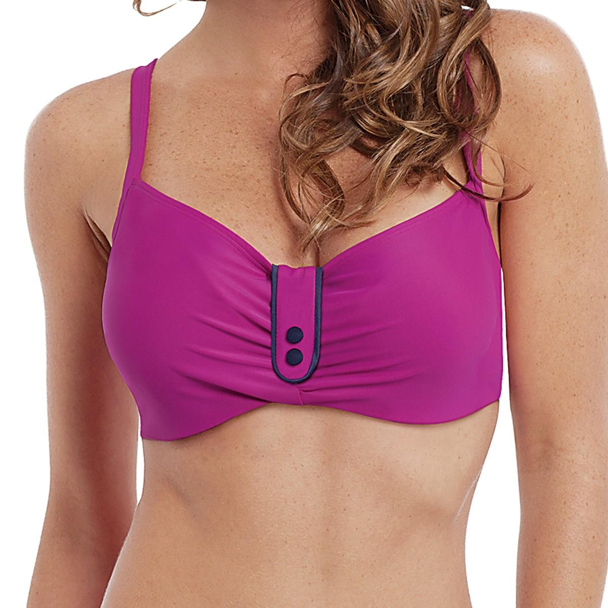 Panache Veronica Balconnet Bikini Top - Magenta
