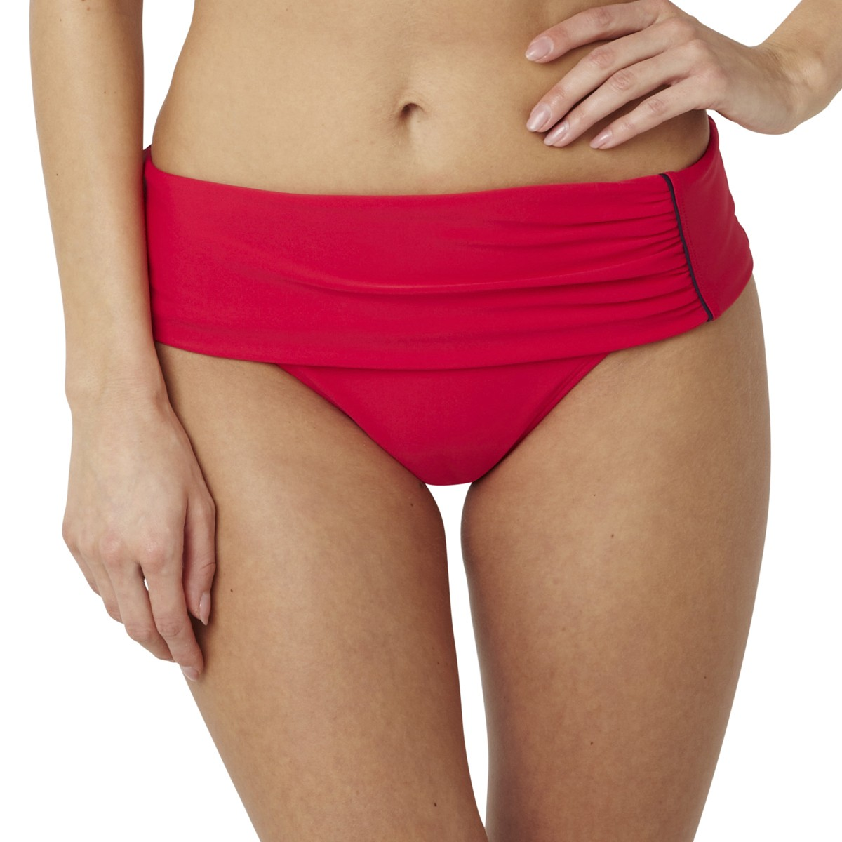 Panache Veronica Folded Bikini Brief - Red