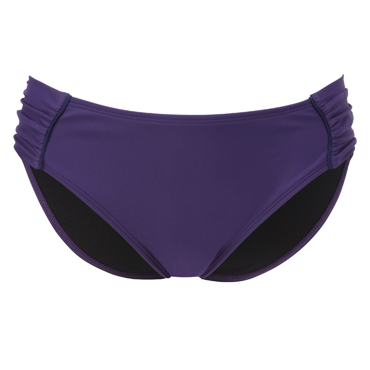 Panache Veronica Gathered Bikini Brief - Cassis