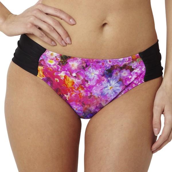 Panache Savannah Gathered Bikini Brief - Floral Print