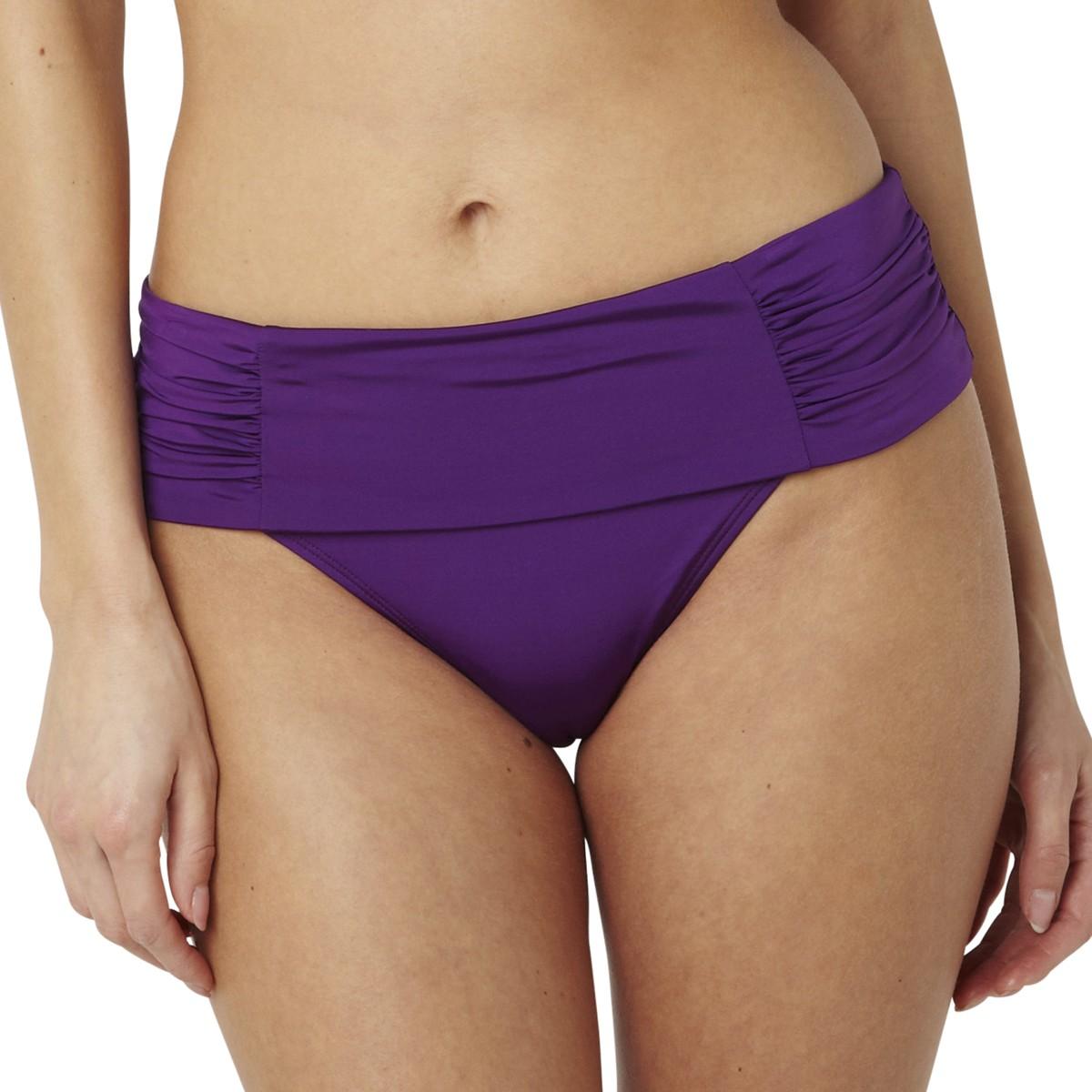 Panache Marina Fold Bikini Brief/Bottoms - Amethyst