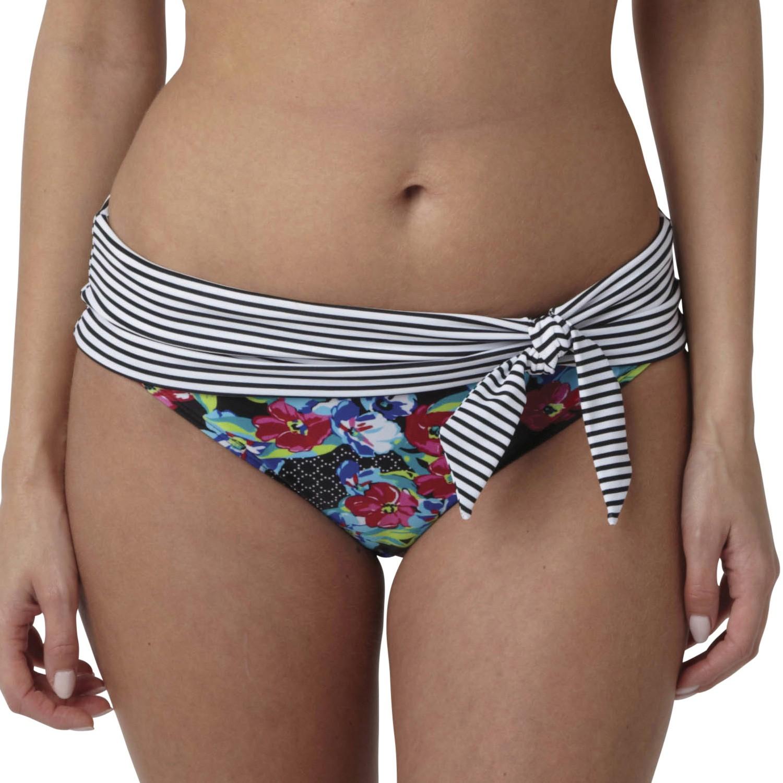 Panache Elle Folded Bikini Brief - Floral Print
