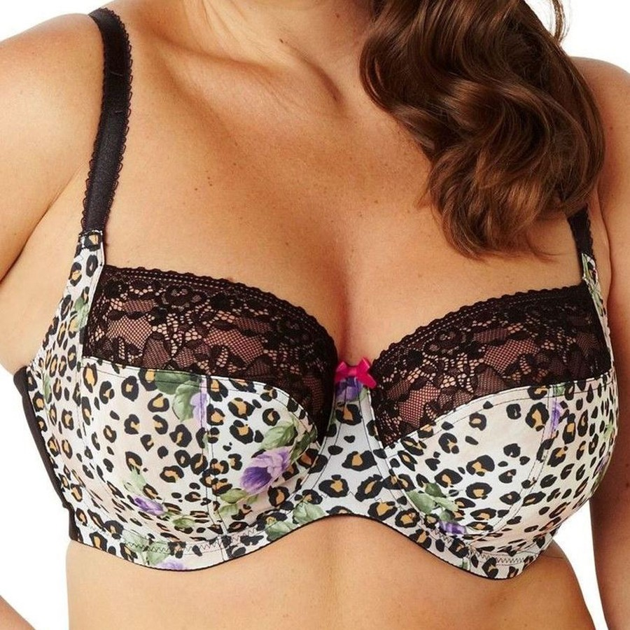 Sculptresse Chi Chi Full Cup Bra - Animal Print