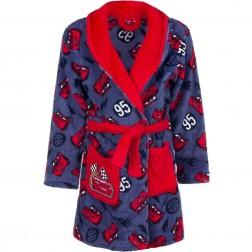 Kids Disney Cars Fleece Robe - Red