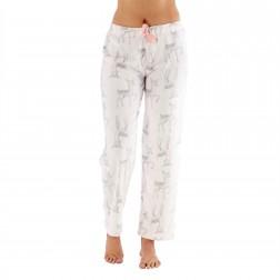 Selena Secrets Ladies Deer Print Fleece Lounge Pants