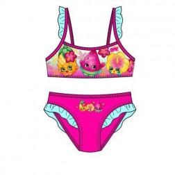 Girls Shopkins Bikini Set - Pink/Blue