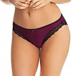 Freya Deco Amore Brief - Merlot