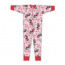 Minnie Mouse 'Lots Of Love' Jersey Onesie