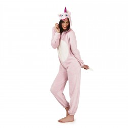 Loungeable Boutique Unicorn Onesie - Pink