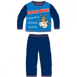 Children's Monkey About Pyjamas - Blue
