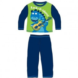 Children's Rock-a-saurus Pyjamas Green/Blue