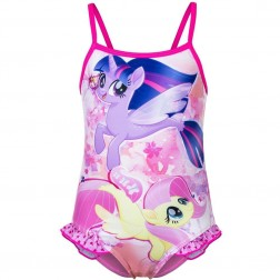 Girls My Little Pony Swimsuit - Pink