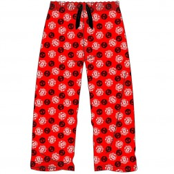 Mens Manchester United Lounge Pants - Red
