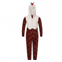 Loungeable Boutique Christmas Pudding Onesie -