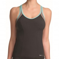 Freya Active Swim Tankini Top - Mocha