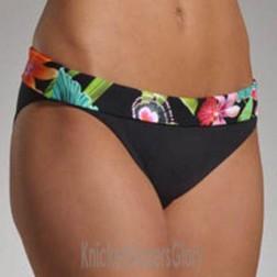 Freya Calypso Fold Bikini Brief - Black