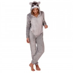 Loungeable Boutique Chinchilla Onesie