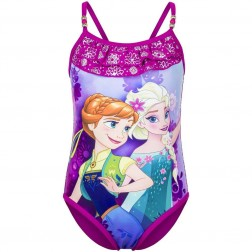 Girls Disney Frozen Elsa/Anna Snowflake Swimsuit