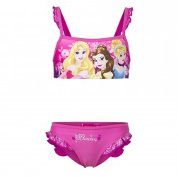 Girls Disney Princess Pink Bikini Set